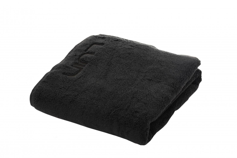 df415cf43d * Asciugamano da doccia 100 x 180 cm nero | Luin Living