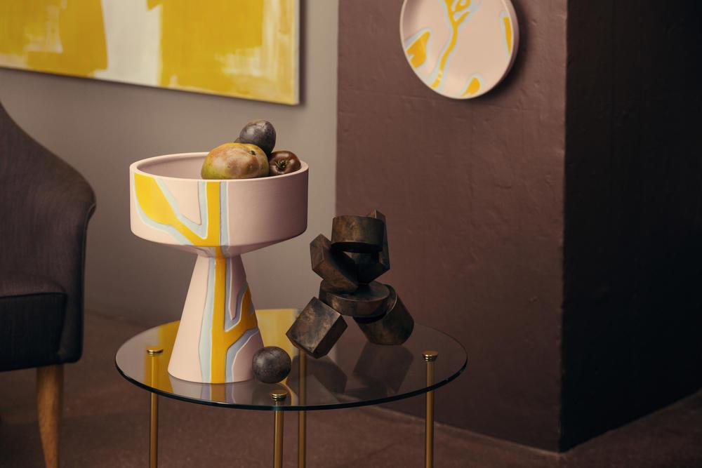 Ny Fiora vase H 33 cm pink | Kähler Design SS18