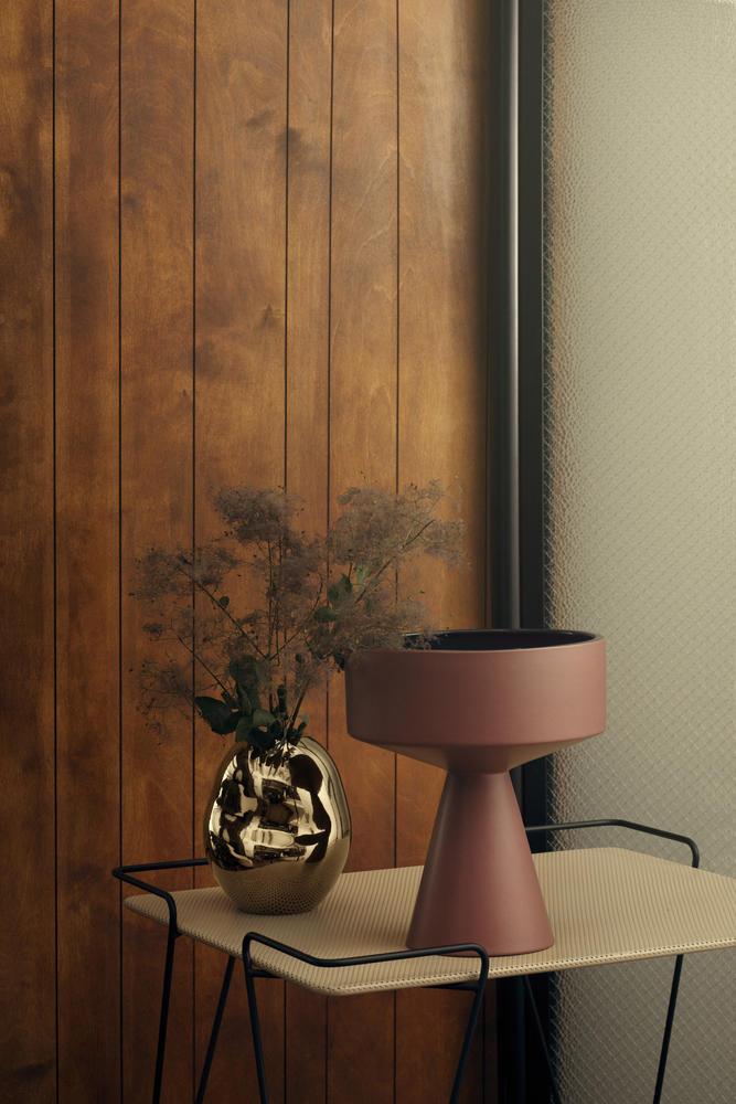 Fantastisk Fiora vase H 33 cm bordeaux blue | Kähler Design TB62