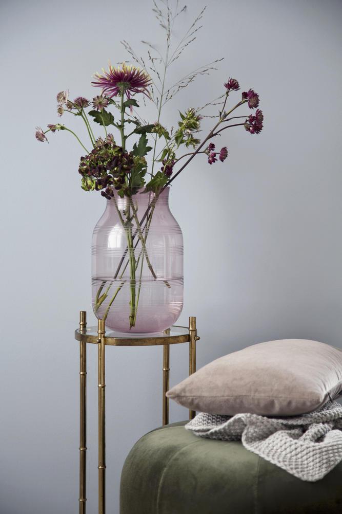 Omaggio Glass Vase H 28 Cm Plum Khler Design