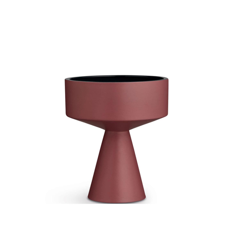 Oprindeligt Fiora vase H 33 cm bordeaux blue | Kähler Design OO22