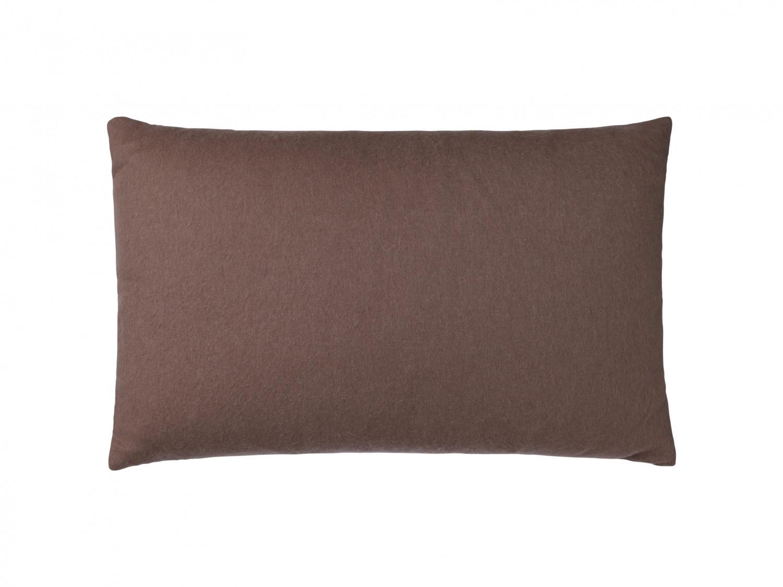 Cuscini 60 X 40.Classic Pillowcase In Alpaca 40 X 60 Cm Botanic Cognac Elvang