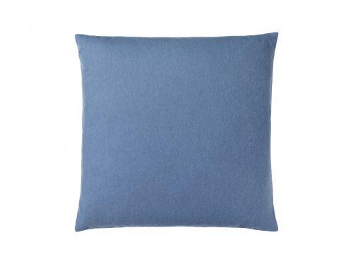 Fodera per cuscino Classic in alpaca 50 x 50 cm blu periwinkle   Elvang