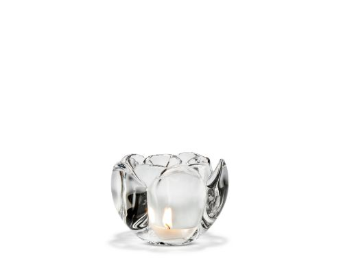 Lotus tealight holder H 9 cm | Holmegaard