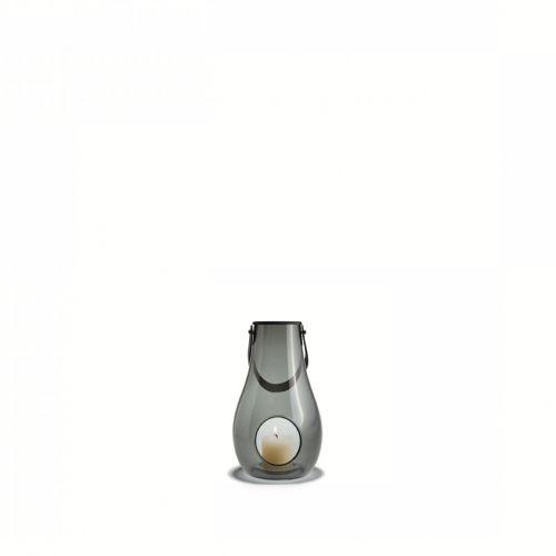 Lanterna fumé Design with light H 16 cm   Holmegaard