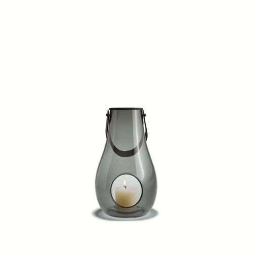 Lanterna fumé Design with light H 29 cm   Holmegaard