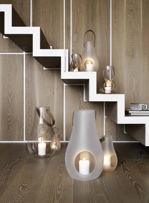 Lanterna Design with light H 25 cm | Holmegaard