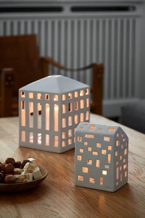 Porta tealight Urbania Moderna | Kähler Design