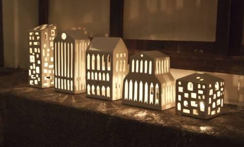 Tealight holder Urbania Smithy | Kähler Design