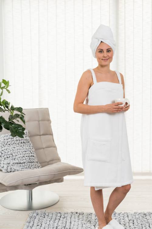 Spa dress bianco | Luin Living