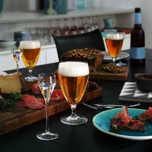 Perfection bicchiere da birra 44 cl 6 pezzi   Holmegaard
