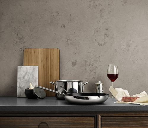 Stainless Steel Padella per friggere Diam. 24 cm | Eva Solo