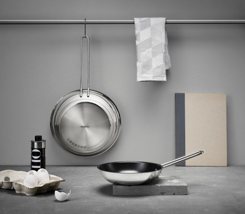 Stainless Steel Padella per friggere Diam. 28 cm | Eva Solo