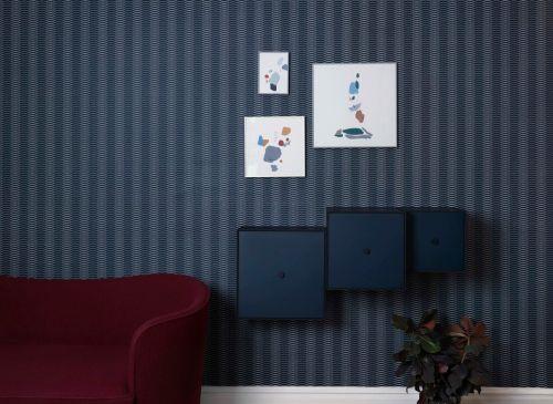 Cornice Illustrate 42 x 42 cm bianca   By Lassen