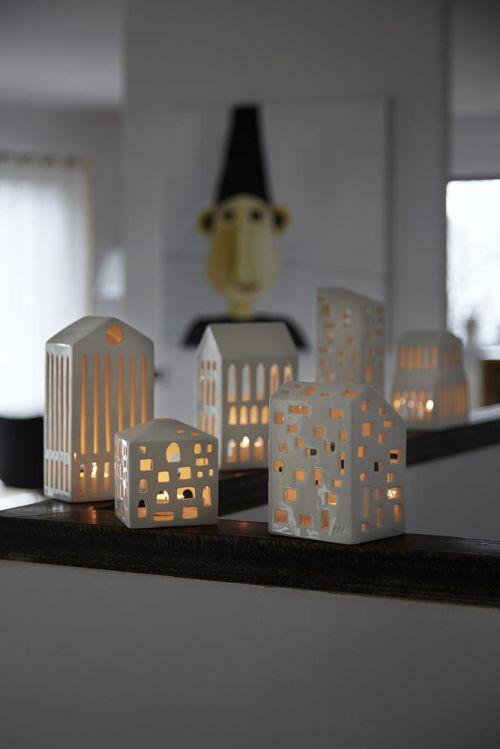 Porta tealight Urbania Kubis   Kähler Design