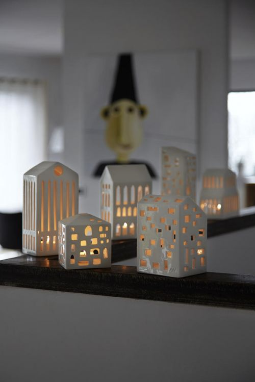Tealight holder Urbania Panthenon | Kähler Design