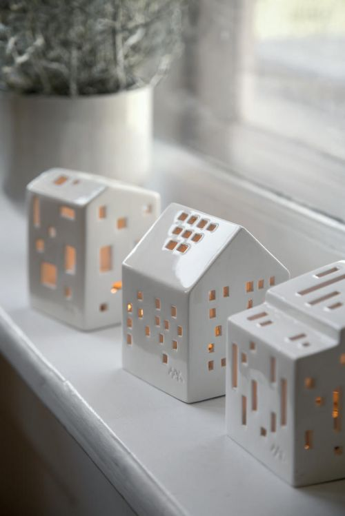 Tealight holder Urbania Light House | Kähler Design