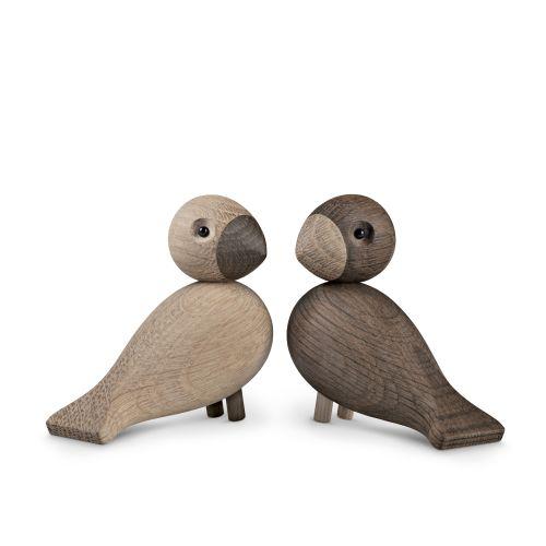 Lovebirds 2 pezzi chiaro e scuro | Kay Bojesen