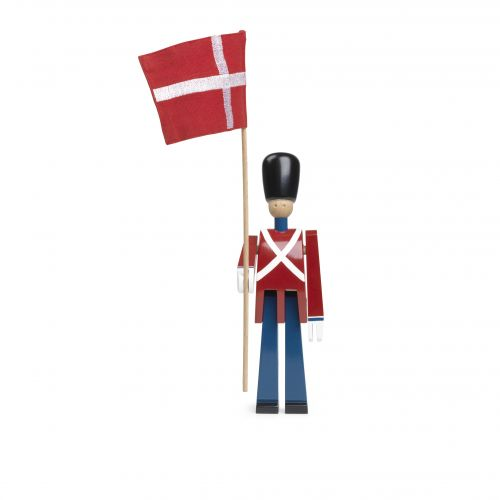 Portabandiera con bandiera in tessuto | Kay Bojesen