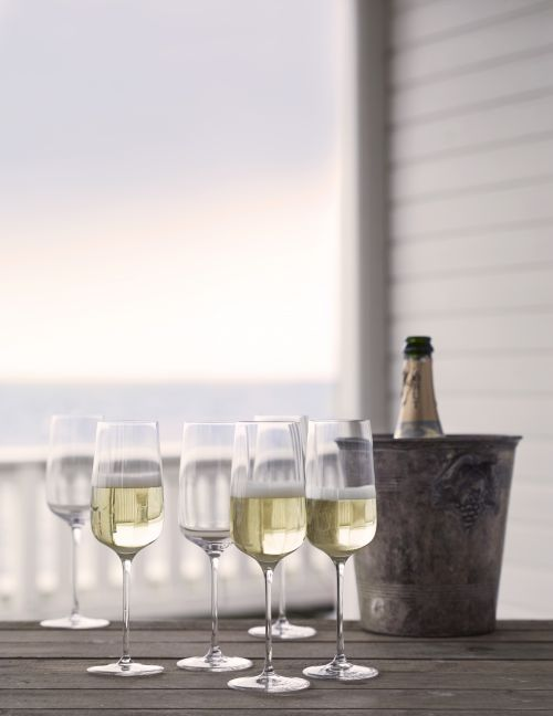 Bouquet bicchiere da champagne 29 cl 6 pezzi | Holmegaard