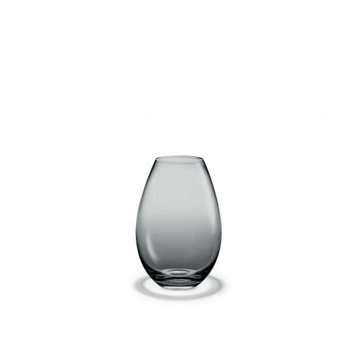 Vaso Cocoon H 17 cm grigio | Holmegaard