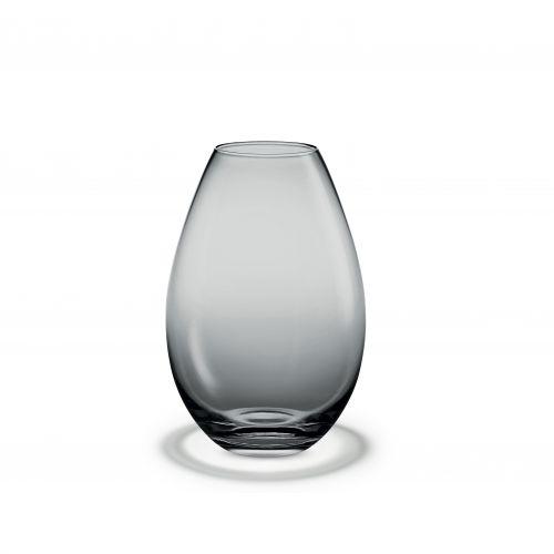 Vaso Cocoon H 26 cm grigio | Holmegaard