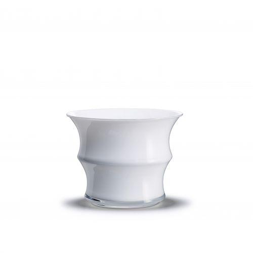 Vaso Karen Blixen H 16 cm bianco | Holmegaard