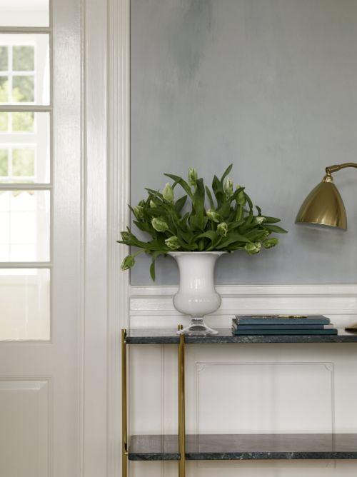 Vaso Old English H 19 cm bianco   Holmegaard