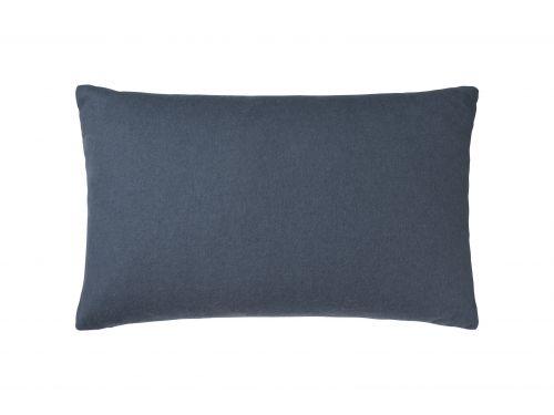 Fodera per cuscino Classic in alpaca 40 x 60 cm blu notte   Elvang